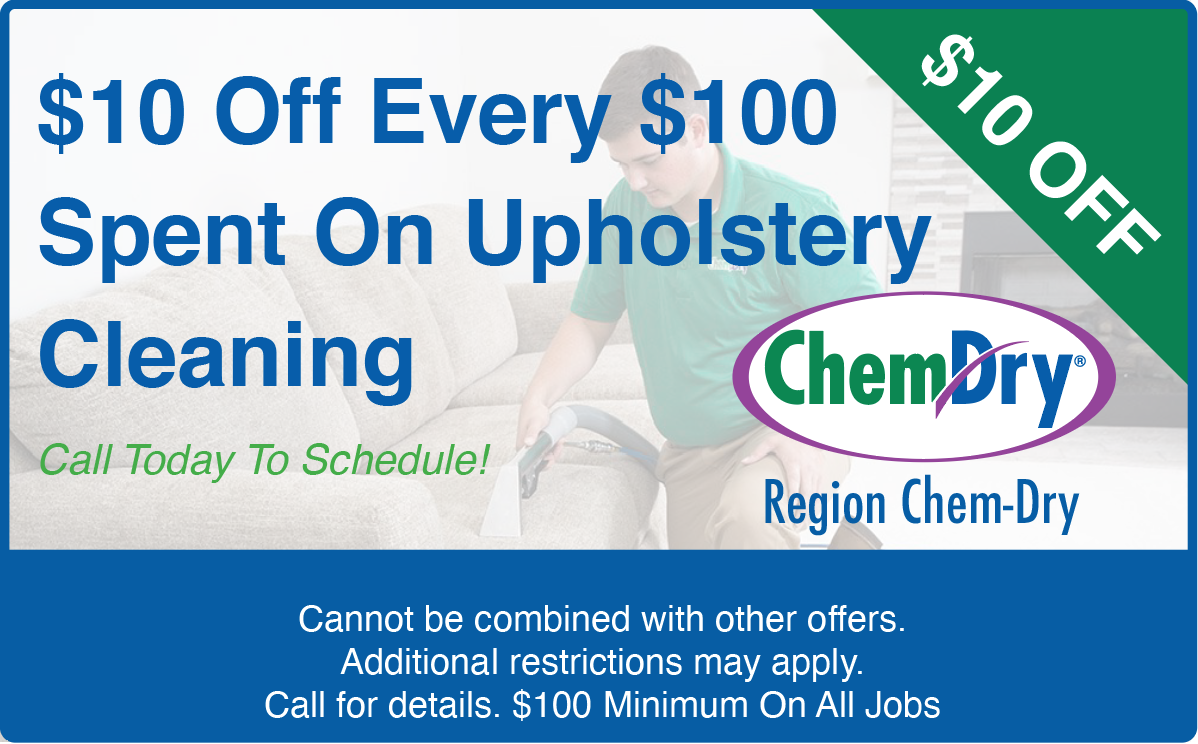 upholstery cleaning coupon in valparaiso